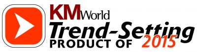 KMWorld Trend-Setting Products of 2015