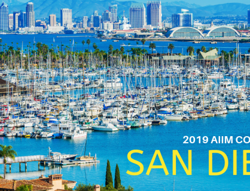 AIIM19: Join us on the West Coast in sunny San Diego