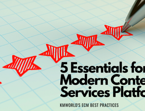 5 Essentials for a Modern Content Services Platform