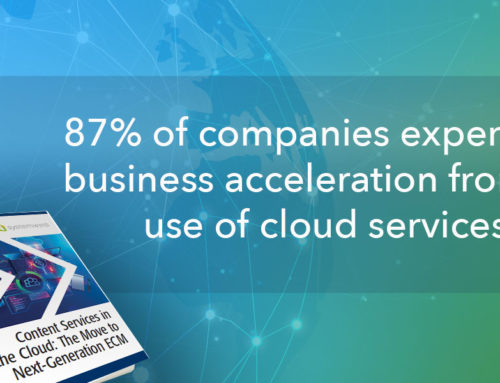 Content Services in the Cloud – The Move to Next Generation ECM
