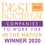 Wall Street Journal Best and Brightest Companies to Work 2020